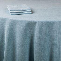 Serviette de table Lin bleu 50 x 50 cm
