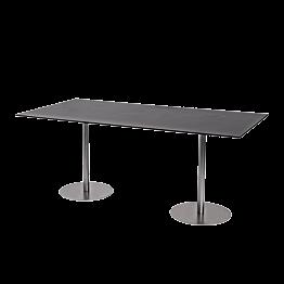 Table Brio noire 180 x 75 cm