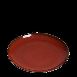 Assiette Corfou rouge Ø 26 cm