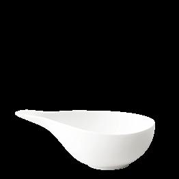 Sauskom porselein wit 19 x 9 cm H 6 cm