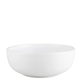 Witte slakom Pop's Ø 26 cm H 10 cm 350 cl