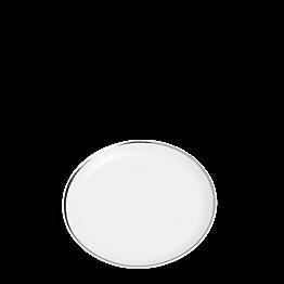 Broodbord Plat zilveren biesje Ø 12 cm