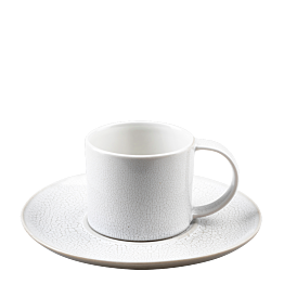 Tasse et sous-tasse à café Sahara 9 cl