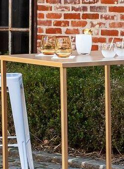 Table haute quadra